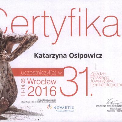 certyfikat 20