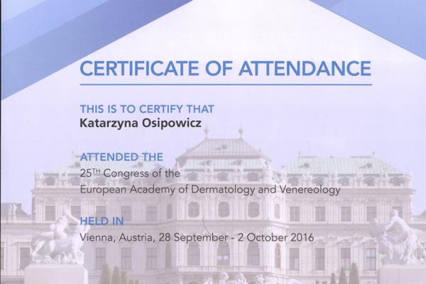 certyfikat 30